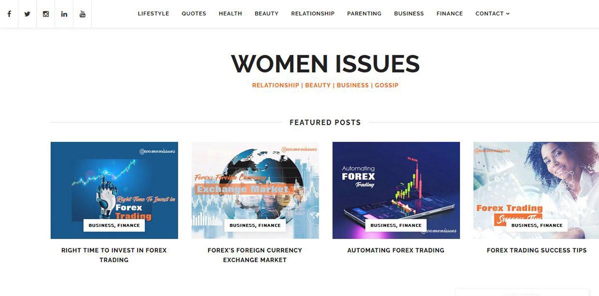 womenissues-SearchMedia-Portfolio